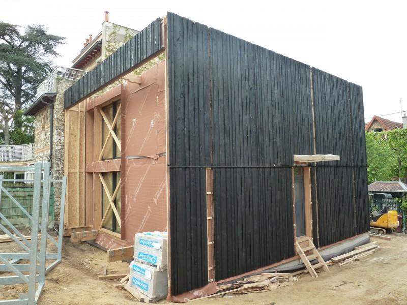 so 39 bois cube 45 maison contemporaine bois. Black Bedroom Furniture Sets. Home Design Ideas